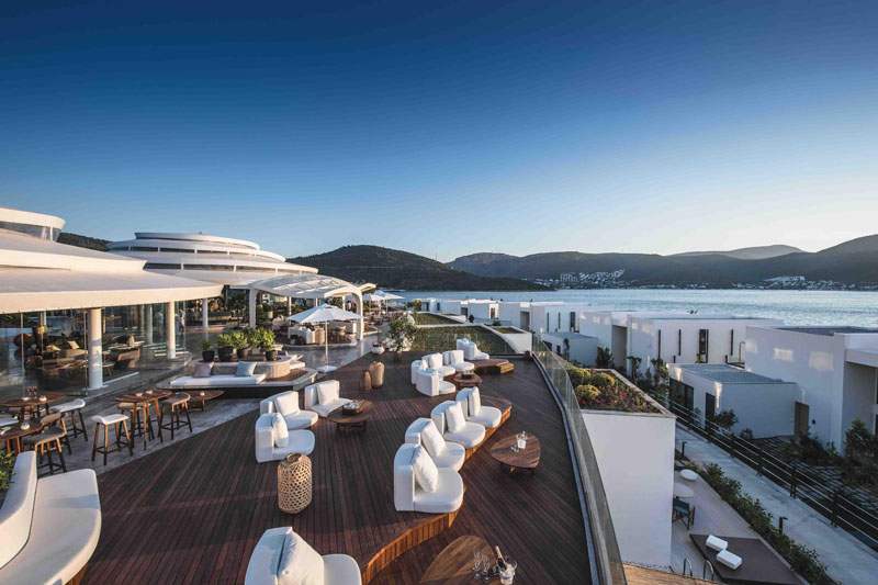 Nikki Beach, Bodrum, Turkey